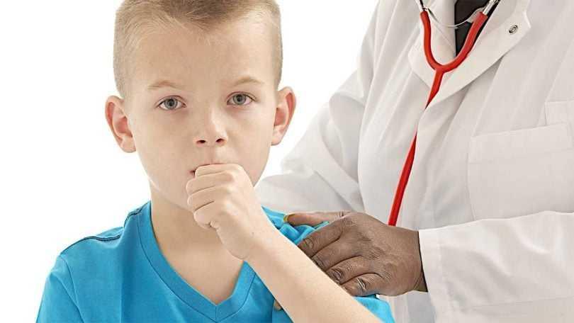 bronquite na infância
