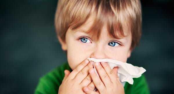 gripe em crianças