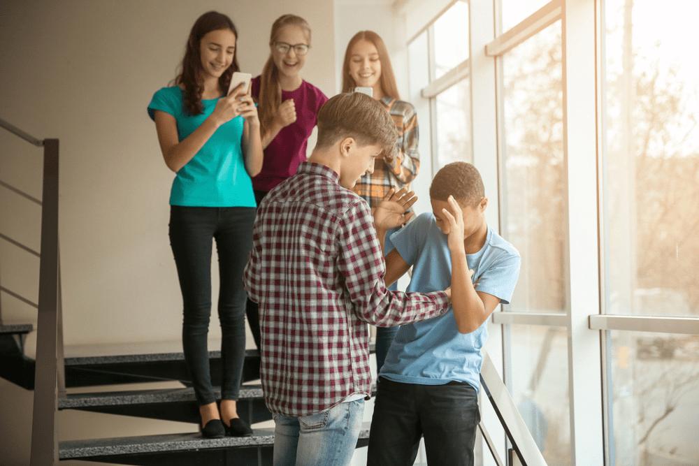 Agressão Bullying na escola