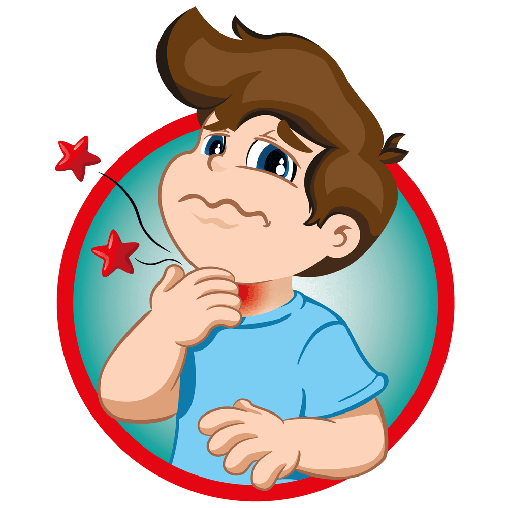 Faringite na infância