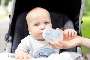 desidratação em crianças