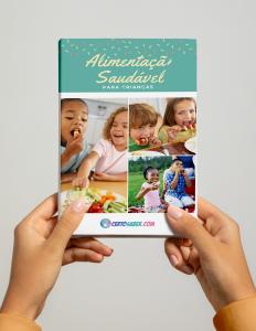 eBook sobre alimentação saudável para crianças 2
